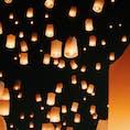 #タイ #チェンマイ #ランタン祭 #コムローイ