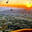 気球からの絶景は写真でみるより想像以上に凄かった!本当におススメです! 朝日が素晴らしい🌄