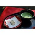 銀閣でいただいたお抹茶🍵 京都は良い良い(^ω^)♬
