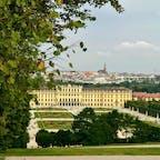 オーストリア シェーンブルン宮殿 ハプスブルク王朝歴代君主の夏の離宮 オーディオガイドのオーストリア皇后シシィのお話がとっても楽しかったです