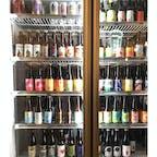 台北の裏路地にある、小さなBAR。61NOTE。冷蔵庫の中には、豊富な種類のビールがありました。瓶ビールの他にも、直接サーバーから注ぐビールがあります。