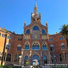 スペインのバルセロナにあるサン・パウ病院。老朽化により現在は閉鎖されていますが「人類の創造的才能を表現する傑作」として世界遺産登録され、貴重な建築様式などを後世に伝えています。 #スペイン #サンパウ病院