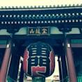 浅草🌟雷門です。 浅草に来たら、やっぱりここへ来てしまいます。 #浅草 #雷門