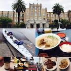 3連休に宮崎の友達の所へ 雨が降ったりやんだりだったけど美味しい物食べてカヤックに初挑戦したり充実の休みでした。