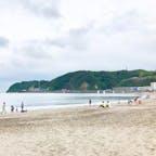 Zushi beach 逗子海岸 海水浴場 Zushi city 逗子市 Kanagawa pref 神奈川県 逗子市は条例でビーチでの飲酒、音楽、BBQ、タトゥー禁止と全国でも厳しいルールを定めているが、逆に小さな子連れには静かで安全で嬉しい壮大なお砂場