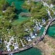 クロアチアの滝天国♪