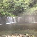 安曇野から車で約二時間。白糸滝を見に行きました。