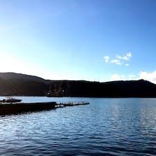 #芦ノ湖 #箱根 #神奈川 2018年1月  海賊船🏴☠️もいつか乗れることあるかなぁ...