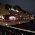 トランジットで立ち寄ったコペンハーゲン。夜のニューハウン。