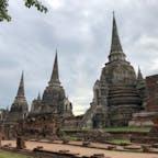 ワット・プラ・シー・サンペット セイロン様式の仏塔。