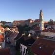 2019年8月チェコ🇨🇿 チェスキークルムロフ  世界遺産✨可愛らしい街でした。 小さい街ですが、1泊したので朝の静かな街を散策できて気持ちよかったです。