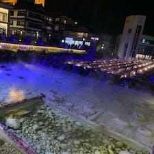 群馬県の草津温泉に行ってきました! ライトアップがとっても綺麗😉