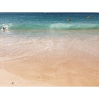 📍オーストラリア クージー キラッキラしてる海。ゆるーい時間が流れるオーストラリアが大好きだ。