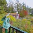 北海道・富良野 新富良野プリンスホテル敷地内 風のガーデン 10月初旬 北海道の紅葉は本当に美しく、時が過ぎるのを忘れます。