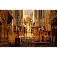 聖ペーター教会 毎日15時からパイプオルガンのコンサートがある