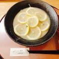 祇園麺処 むらじ れもんらーめん🍜 鶏ベースのとろっとしたスープ。 レモンの香りでさっぱりしてます。
