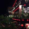 台湾・九份 ノスタルジックな夜の街並み