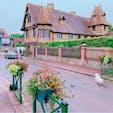 #フランス ノルマンディー地方 ブブロン村 木組みの家が並びとってもメルヘン♪