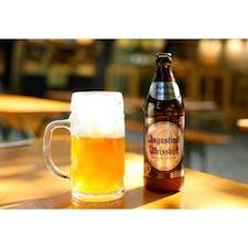 ヴィクトアリエンマルクトにて 帰国前に最後のビール