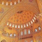 トルコ イスタンブール ブルーモスク礼拝堂