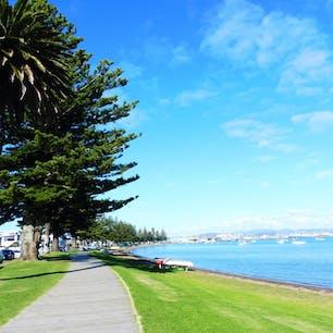 Mount Maunganui in New Zealand