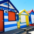 brighton beach in Melbourne