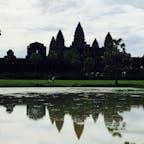 カンボジア アンコールワットへ行って来ました。
