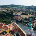 チェコ🇨🇿  チェスキークルムロフ城からの眺め