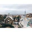 📍スペイン バルセロナ グエル公園。有名な場所はぜんぶ有料。めっちゃ広い。街の中心からバスで30分程やったかな?バス乗るのって結構挑戦やったらしくてわからんわからんゆうてたら、優しいおばあちゃんがここやでって教えてくれた🥰