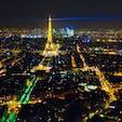 パリの夜景はエッフェル塔から見るよりモンパルナスタワーがおすすめ