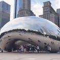 シカゴの有名なシンボルの1つ   #シカゴ #ミレニアムパーク #ビーン