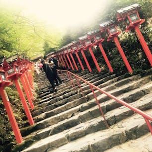 貴船神社⛩ 初めて行きました!