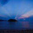グアム オンワードビーチリゾートからの海 日の出前の静かな海です🏖