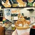 池田市観光案内所 チキチキソフト🍦 チキラーが塩っぽくて アクセントになってました。 思ったより 美味しい😁