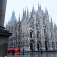 ミラノ大聖堂・ドゥオモ 圧倒的な迫力に思わず声が出てしまいました。