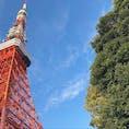 近くで見ると、やっぱり わー!ってなる🗼   #東京 #東京タワー