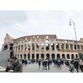 📍イタリア ローマ コロッセオ!思わず おぉー!!!と言ってしまった。迫力がすごい!ほんまに世界各国から観光客が来てた。