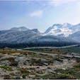 #アタバスカ氷河 #コロンビア大氷原 #バンフ国立公園 #ジャスパー国立公園 #カナダ 2018年8月  下山後、さっきまであの氷河の上を歩いてたんだな〜 ってしばらくずっと不思議な気持ちだった😊😊