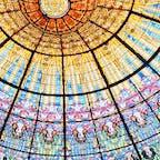 バルセロナのカタルーニャ音楽堂