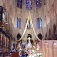 フランス パリ クリスマスイブのノートルダム大聖堂(火災前) 火事のニュースが流れた時は、日本人の私でさえショックでしたが、きっと、新旧が見事に融合した素晴らしい聖堂が再建されることでしょうね。