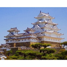 姫路城 日本の城の何と美しいことでしょう!