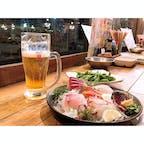 #浜けん #広島 #居酒屋 #9月  サイコウノクミアワセ。ノミカケゴメン。