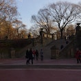 Bethesda Terrace in front of the Bethesda Fountain, Central Park ベセスダテラス