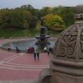 Bethesda Fountain in Central Parkベセスダ噴水