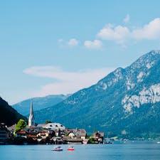 オーストリア ハルシュタット お天気良くて最高でした!!