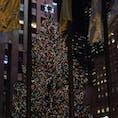 Rockefeller Centerロックフェラーセンター クリスマスツリー