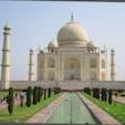 インド/タージマハル インド人と外国人とでは入口も登り口も料金も違うんだよね。