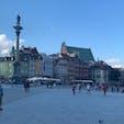 ポーランド,ワルシャワにて old townの街並みはとても素敵です