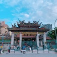 台湾 台北 龍山寺  龍山寺駅から徒歩2分 3大寺院の1つらしいです☺️