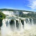 ブラジル/イグアスの滝 イグアスの滝のブラジル側。幅4キロの滝は凄いですよ。三大瀑布行ったけどイグアスが最高でした。